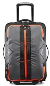"""High Sierra Dell's Canyon 22"""" Carry-On Wheeled Drop Bottom Duffle"""