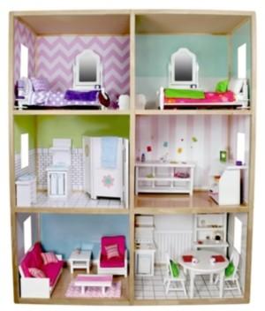 My Girl Dollhouses My Girls 6 Foot Tall Dollhouse For 18 Inch Dolls Modern Style