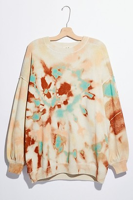 Free People Cosmos Tie Dye Pullover