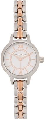 Olivia Burton Wonderland Mini two-tone watch