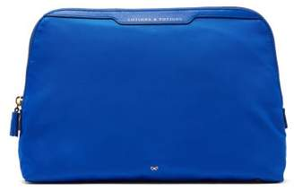 Anya Hindmarch Lotions & Potions Wash Bag - Womens - Blue