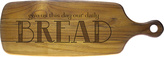 Susquehanna Glass 'Our Daily Bread' Teak Cutting Board