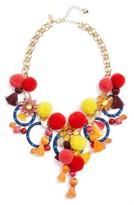 Kate Spade Women's Pretty Poms Statement Necklace