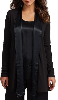 PJ Harlow Shelby Knit Lounge Cardigan Wrap