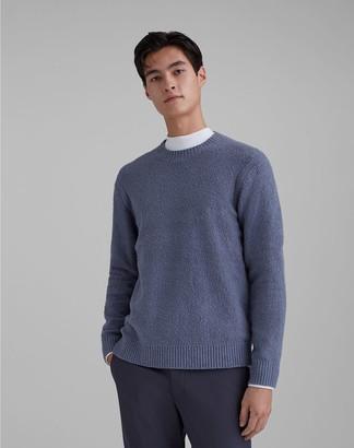 Club Monaco Unisex Boucle Crew Sweater