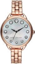 Marc by Marc Jacobs Women's Betty Rose Gold-Tone Stainless Steel Bracelet Watch 36mm MJ3515