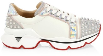 Christian Louboutin Orlato Spiked Sneakers