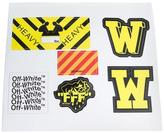 Off-White multiple stickers