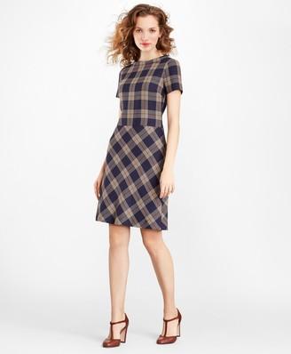 Brooks Brothers Plaid Dress