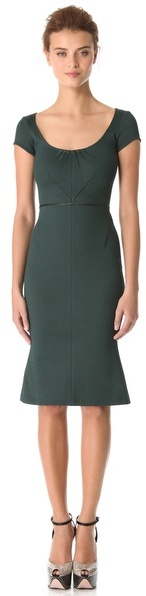 Zac Posen Bondage Jersey Dress