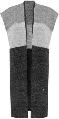 You By Tokarska Cuddly Sweater Vest Three Colour Grey