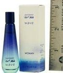 Davidoff COOL WATER WAVE by EDT .17 OZ MINI for WOMEN