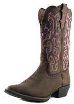 Justin L2562 B Pointed Toe Leather Western Boot.