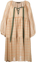 Maurizio Pecoraro printed peasant dress - women - Silk - 42