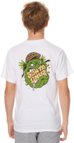 Santa Cruz Kids Boys Trooper Tee White