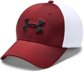 Under Armour Men's Mesh Fitted Logo Cap