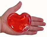 Heart Shaped Reusable Heat Pads - Red by Jenskates LLC