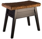 Elegant Home Fashions Wave Bench