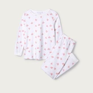 The White Company Nicola Floral Pyjamas (1-12yrs), White, 1-1 1/2yrs