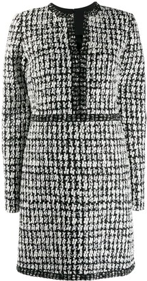 Giambattista Valli Tailored Tweed Mini Dress