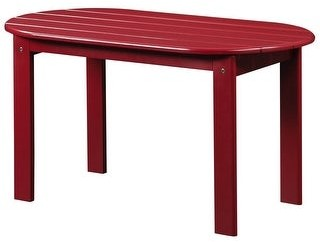 Linon Gavil Adirondack Red Coffee Table