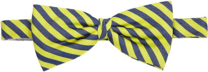 Barneys New York Candy Stripe Bow Tie