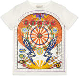 Gucci GUCCY Flash Short-Sleeve Tee, Size 4-12