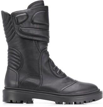 Casadei Padded Biker Boots