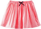 Osh Kosh Striped Woven Skirt (Toddler/Kid) - Coral-6x