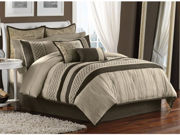 Bed Bath & Beyond Tuscany 12-Piece Full Comforter Set