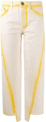 Lanvin Bleached Straight-Leg Jeans