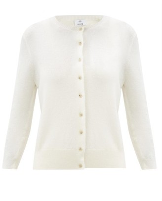 Allude Round-neck Cardigan - Cream