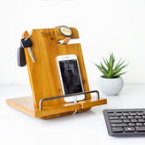 Cathy's Concepts CATHYS CONCEPTS Personalized Wooden Docking Station