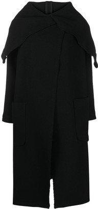 Societe Anonyme Oversized Hooded Coat