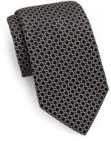 Valentino Interlocked Silk Tie