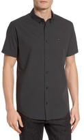 RVCA Men's That'Ll Do Microcheck Woven Shirt