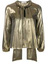 Golden Goose Deluxe Brand Women's Gold Polyester Blouse.
