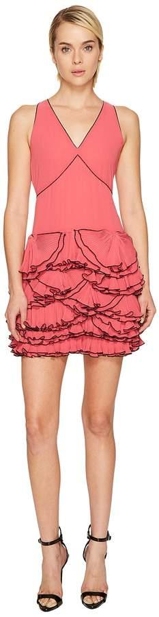 Moschino Georgette Ruffle Dress Women's Dress