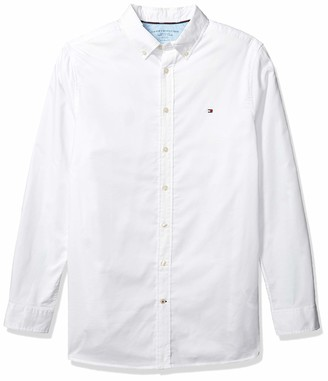 Tommy Hilfiger Big & Tall Men's Big and Tall Button Down Long Sleeve Shirt