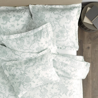 Ballard Designs Jardin Toile Duvet Cover Gray King