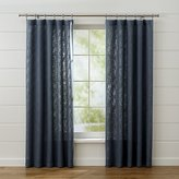 Crate & Barrel Lindstrom Blue Curtain Panels