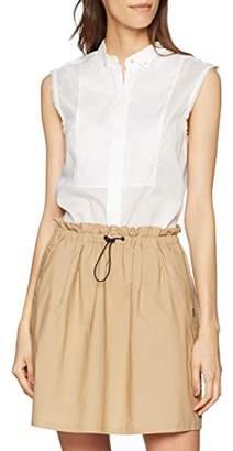 Filippa K Women's Tuxedo Sleeveless Shirt Blouse,8 (Size: S)