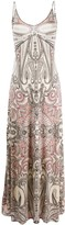 Etro paisley-print maxi slip dress