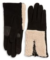 Echo Sherpa Cuff Cashmere-Blend Tech Gloves