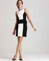 Dress - Trissie Ponte Color Block