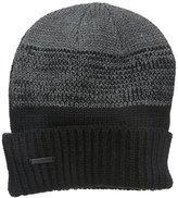 Calvin Klein Men's Marled Color-Block Cuff Hat