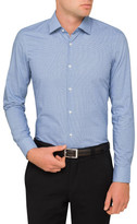 HUGO BOSS Gingham Check Single Cuff Shirt