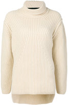 Isabel Benenato roll-neck sweater