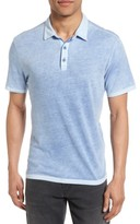 John Varvatos Men's Reverse Sprayed Polo