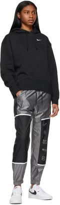 Nike Black & Grey Sportswear Archive Rmx Lounge Pants